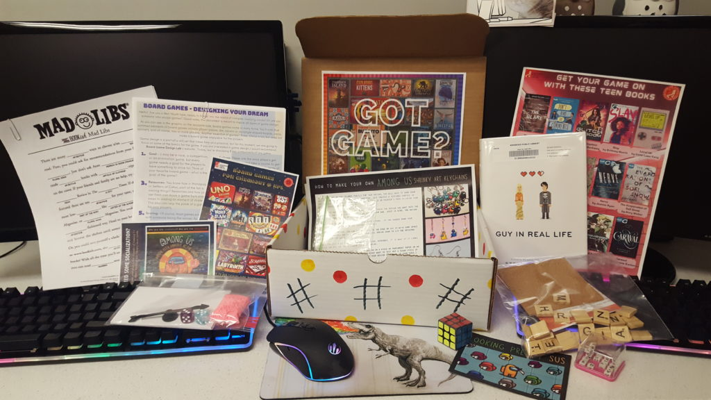 Teen Screen-Free Subscription Box: Bored Game Bonanza